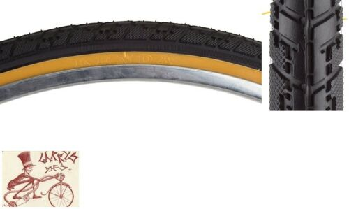 "SUNLITE HYBRID NIMBUS  26/"" x 1-3//8/""  BLACK//GUMWALL BICYCLE TIRE"