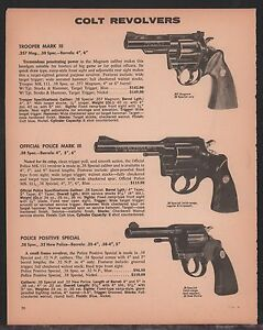 1972-COLT-Trooper-amp-Official-Police-Mark-III-Police-Positive-Special-Revolver-AD