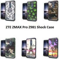 ZTE Zmax Pro Carry Z981 Cover Hybrid TPU Protective Case
