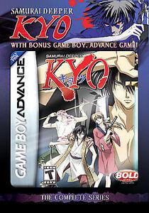 Samurai Deeper Kyo Game Bundle Dvd 2008 6 Disc Set Gameboy Advance Cartridge