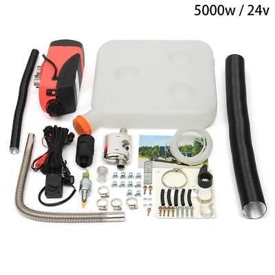 Parking Heater 5000w 12V Digital Car Air Diesel Heater Silencer Motor-homes Car