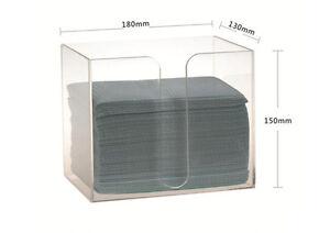 1 Dental Clinic Hostipla Disposable Bib Towel Tissue Paper Dispenser Holder Case Oral Hygiene