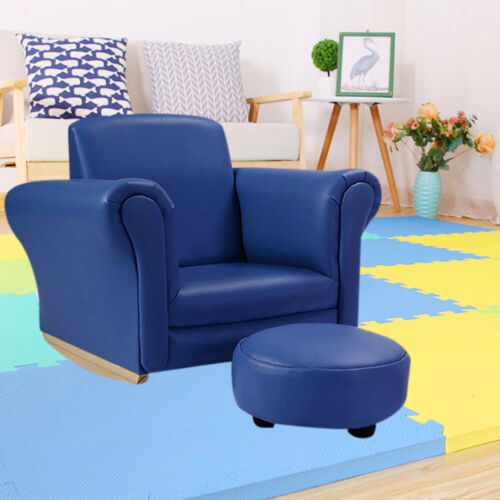 Kids Sofa Set Children/'s Baby Settee Toddlers 1//2 Seater Armchair Couch Leather