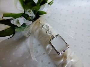 Bridal Bouquet Photo Frame Memory Memorial Charm Wedding Ebay