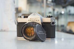 Asahi-Pentax-Spotmatic-SP-500-Film-Camera-amp-Super-Takumar-55mm-f2-M42-Lens