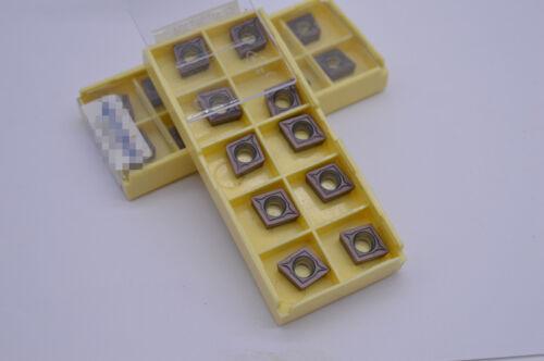 10×  CCMT09T304 VP15TF CCMT32.51  Insert Carbide Insert Milling Cutter