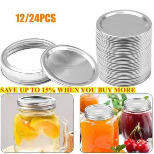 ✅Kitchen /& Dining Regular Mouth Canning Lids Bottles Lid Jar Caps Mason Jar Lid