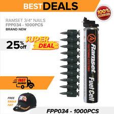 Ramset Fpp034 34 1000pcs Brand New For Use Tf1200 Amp Tf1100 Nail Guns