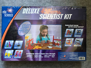 Edu-Science Deluxe 450+ Scientist Kit : Experiments in Physics & Energy : NEW
