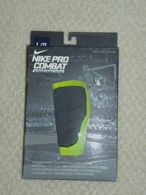 9420129806 Nike Pro Combat Men's Hyperstrong Compression Shin Sleeve Large 29c17