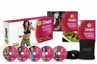 Zumba Fitness Incredible Slimdown Dvd System Total Body Workout Dance Exercise