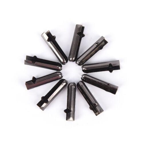 10pcs//20pcs Metal Aglets DIY Shoelaces Repair Shoe Lace Tips Replacement EnU J7