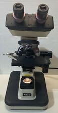 Nikon Alphaphot 2 Ys2 H Halogen Microscope With 4x 10x 40x 100x Objectives