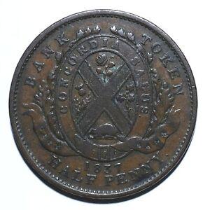 1837-Canada-Half-1-2-Penny-1-Sou-City-Bank-Lot-1210