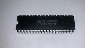 1 x m5l8279p-5 Programmable Keyboard//display interfac MITSUBISH dip-40 1pcs
