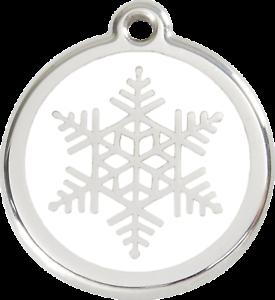 Médaille Acier Inox Chien Ou Chat Red Dingo Fleur De Givre 3 Tailles Iijs2uxm-10043122-268268458