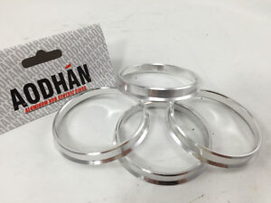 4 Aodhan Aluminum Hub Centric Rings 73.1-57.1 Fit Vw Beetle Cabrio Eos Cc Vr6