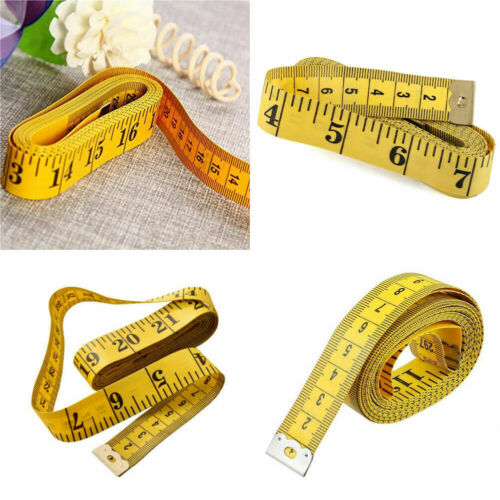 "120/"" Body Measuring Ruler Sewing Cloth Tailor Tape Measure Seamstress Soft Flat"
