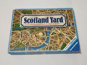 "Vintage Ravensburger ""Scotland Yard"" Detective Board Game from 1983 80025"