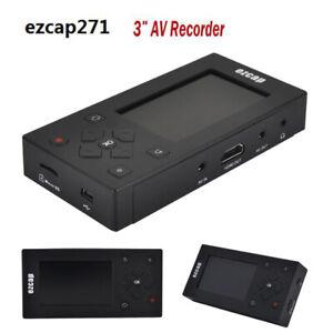Av Recorder Audio Video Converter Convert Vhs Camcorder Tapes To Digital Usb Sd Ebay