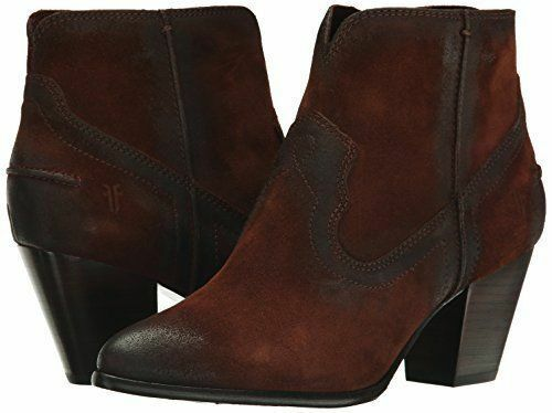 Women's FRYE Renee Seam Short Boot FRYE Choose Size color Brown-72064 6.5M US