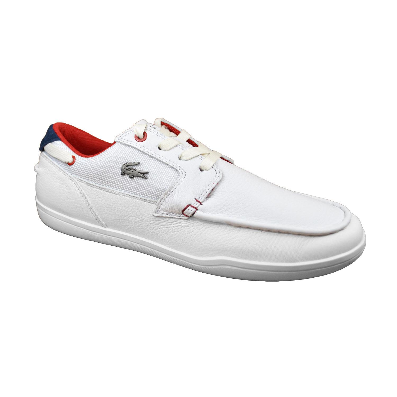 Lacoste Cubierta-un mínimo de 317 Hombres blancoo Rojo 7-34CAM0029286