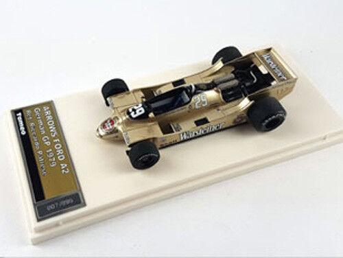 Tameo 1 43 Built TMB048 Arrows A2 F.1 Ford  29 German GP 1979 Patrese NEW LTD
