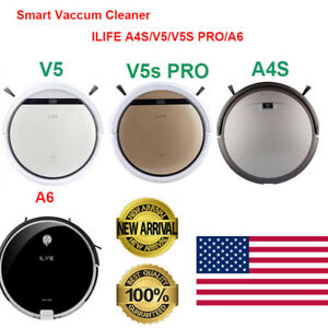 ILIFE-A4S-V5-V5S-PRO-A6-Smart-Clean-Robot-Floor-Cleaner-Auto-Vacuum-Cleaner-US