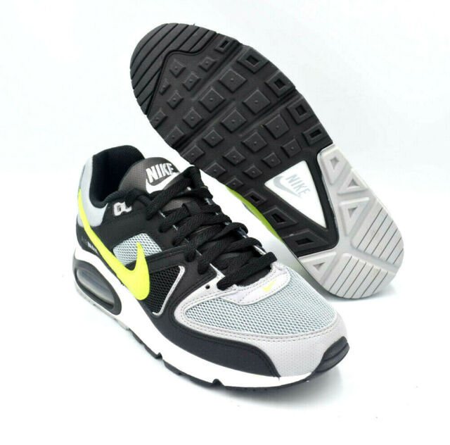 Nike Air Max Command Wolf Grey Volt Black Mens Shoes [629993 047] Multi Size