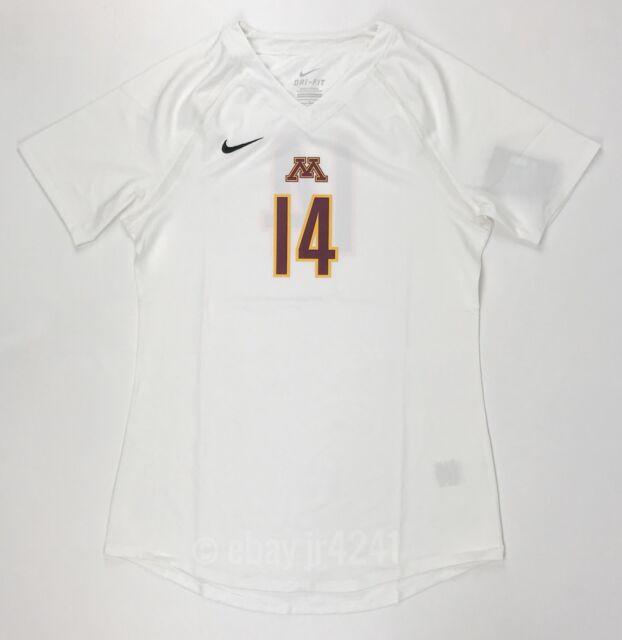 b42b5a2e4b68 New Nike University of Minnesota Gophers Volleyball SS Agility Volleyball  Jersey