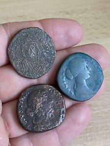 Lot-Monnaies-Romaines-Sesterce-Byzantine-Rare