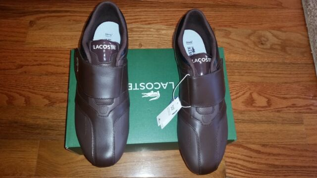 a660507e99a0b1 NEW LACOSTE FUTURSTPMC CASUAL SNEAKERS LEATHER MEN`S SHOES SIZE 13.M