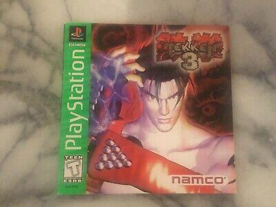 Tekken 3 Ps1 Playstation 1 Manual Only No Game
