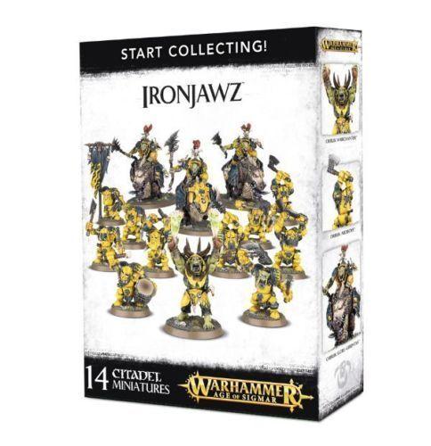 Warhammer edad de Sigmar empezar a recolectar ironjawz-Envío Gratuito
