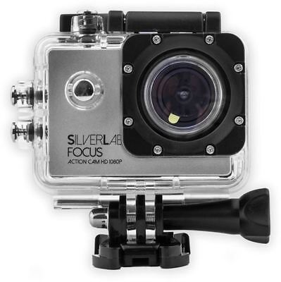 Cameras & Photography Preiswert Kaufen Silver Label Focus Action Camera 1080p With Free Ogio Case Worth £29.99 VerrüCkter Preis