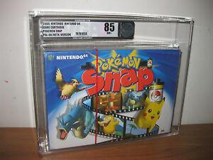 Pokemon-Snap-SOLID-STRIP-VGA-85-Nintendo-64-New-Factory-Sealed-N64