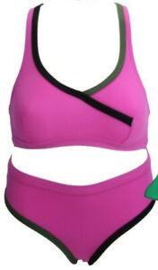WOW Baby Pink Bikini Size 6 8 10 12 Baby Pink Tie Side Bikinis Ladies Swimwear