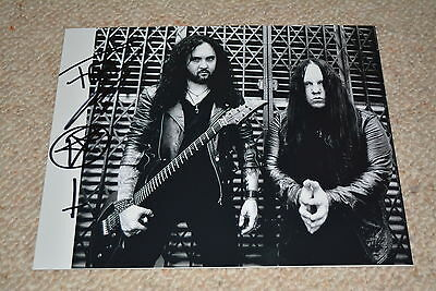 Entertainment Memorabilia Able Frederic Leclercq Signed Autograph In Person 8x10 20x25 Cm Dragonforce Structural Disabilities Photographs