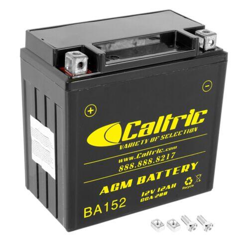 AGM Battery for Honda TRX650FA TRX650FGA Rincon 650 4X4 Gpscape 2003 2004 2005