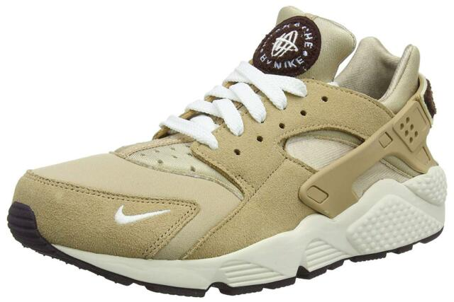 new styles 97408 8453b Nike Air Huarache Run Premium Desert Sail-Burgundy Ash (704830 202)