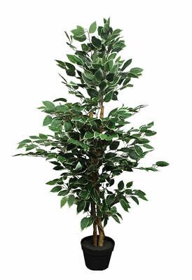 Kunstpflanze im Blumentopf 115cm div Deko Zimmer Pflanze künstlich Pflanzen