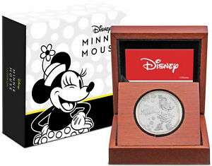Disney-Minnie-Mouse-1oz-Silver-Coin