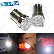 2pcs Car White 5W 1156 BA15S 9 SMD 12V LED Bulbs Lamp Turn Signal Backup Lights