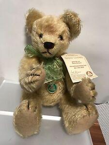 Hermann Teddy Bear 37 Cm.   Avec étiquette.   Non-jeu.   Top condition !!