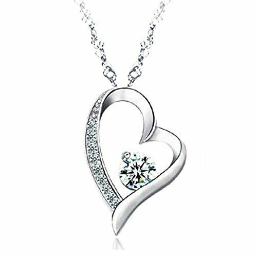 product online shop lady plating jewelry white necklace us web swarovski rhodium en