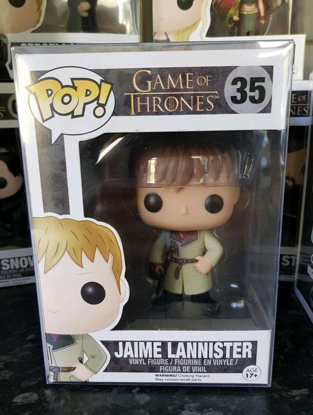 Diverdeimentoko POP Jaime Lannister oro He gioco  OF THRONES  35 presente nel Vault RARA PLUS ProssoEC  comprare sconti