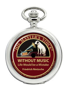 Record-Label-Without-music-life-would-be-a-mistake-Pocket-Watch