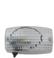 Rectangular Weatherproof Interior Exterior Trailer Dome Utility Light W/ Switch