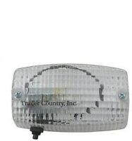 Rectangular Weatherproof Interior Exterior Trailer Dome Utility Light W/ Switch