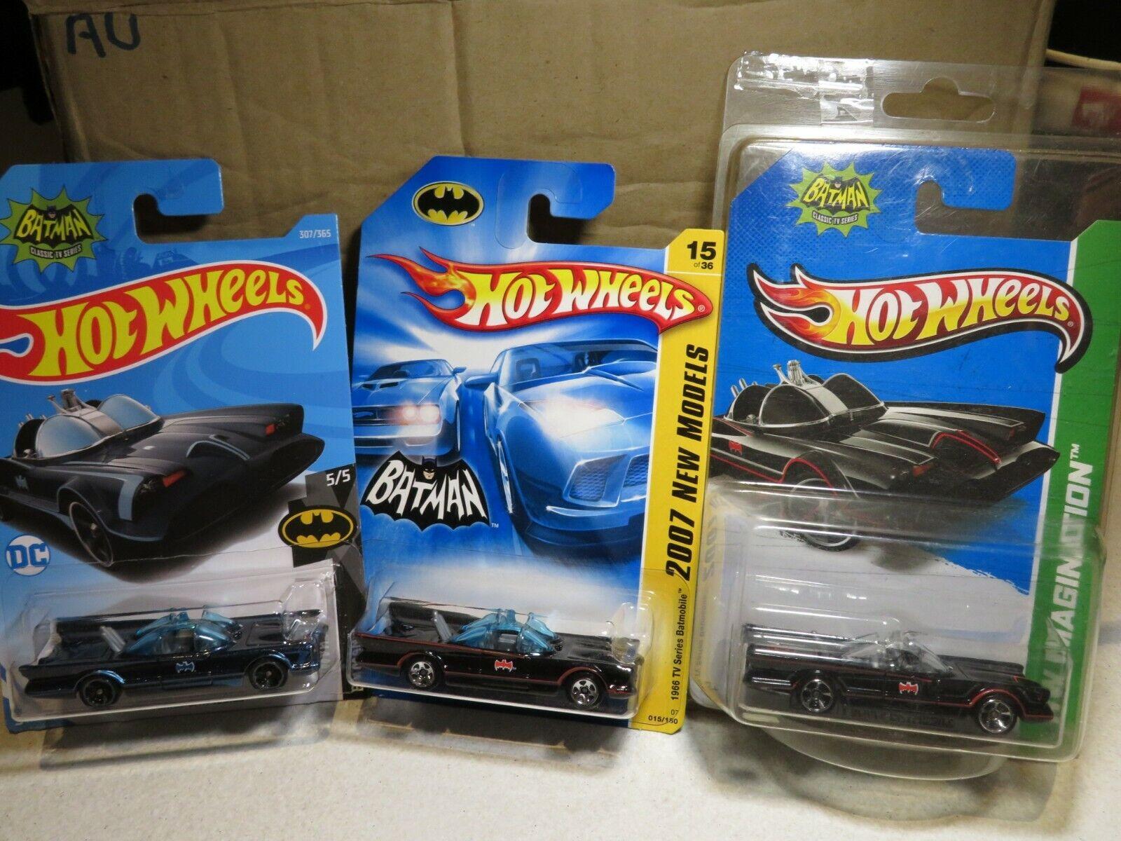 Hot Wheels Series de TV Batimóvil Batman Hotwheels (3 un.)